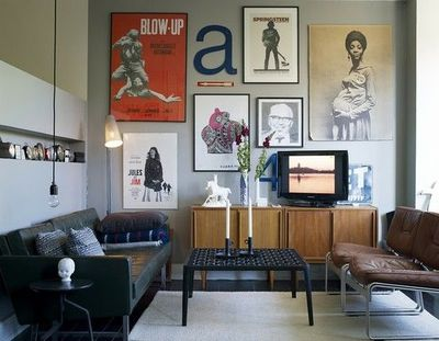 Small Living Room Space Done Exceedingly Well Manly For The
