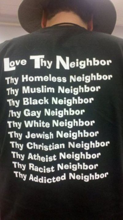 Love your neighbour #quotes
