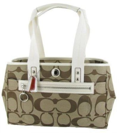 COACH F14878 Daisy Signature Large Tote Womens Purse Handbag