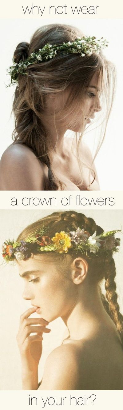 flowers in the hair~