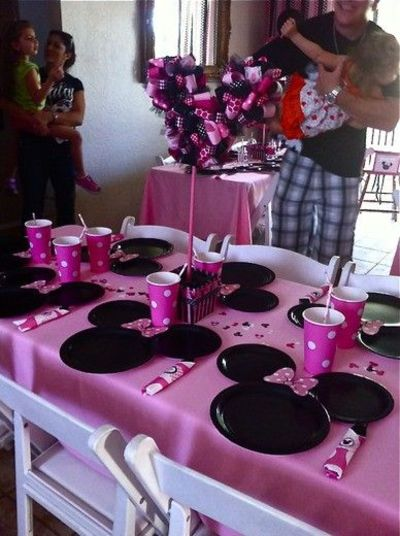 Minnie Mouse Plates  Great Place For Lots Of Minnie Mouse Party Ideas