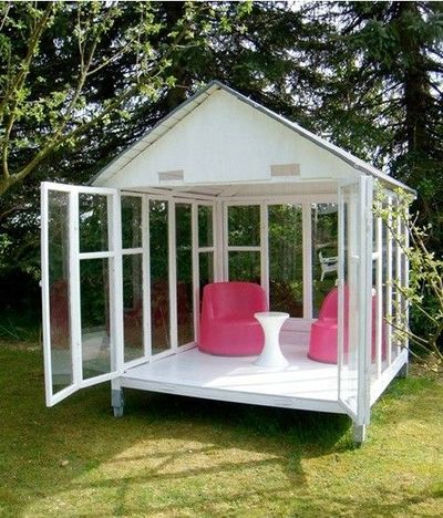 Gazebo Elegant Playhouse Or Outdoor Shed Diy Make It