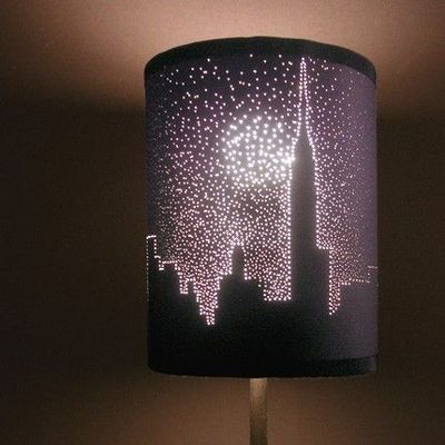 When life gives you lemons diy projects cute diy lampshade by making small holes i wonder how it would look aloadofball Gallery