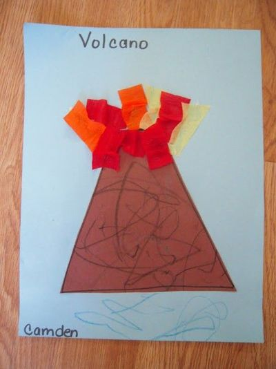 How To Make A Origami Volcano