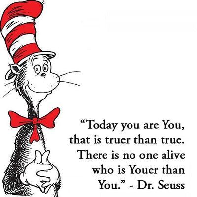 be yourself words to live by from dr seusslove