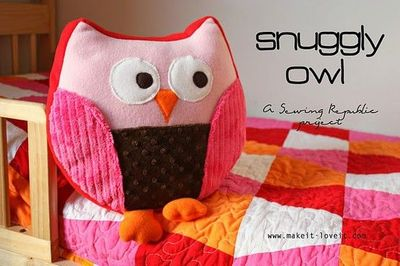 Free Owl Stuffed Cuddly Crochet Pattern : cuddly stuffed owl. free pattern. / birds - Juxtapost