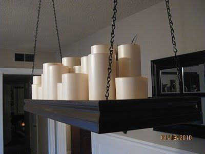 Diy chandelier for the dining room could be electric as wel diy chandelier for the dining room could be electric as well scott walker mozeypictures Image collections