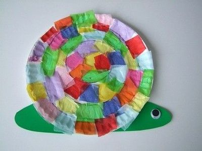 Snail Crafts For Kids Spring Activity Preschool Items Juxtapost