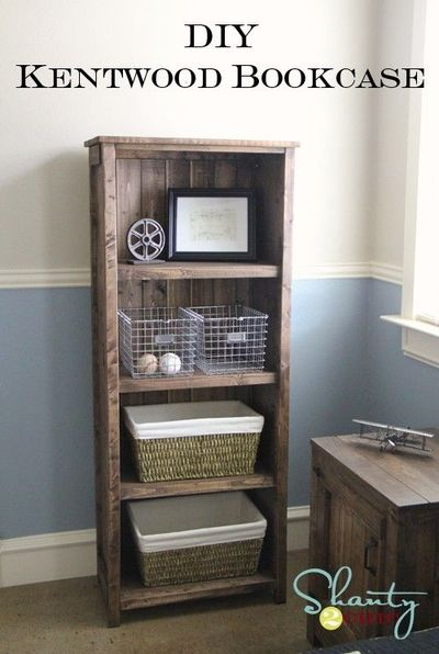 diy kentwood bookcase nightstand really like the bed frame kids rooms juxtapost. Black Bedroom Furniture Sets. Home Design Ideas