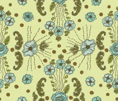 Vintage Dress fabric by cynthiafrenette on Spoonflower - custom fabric