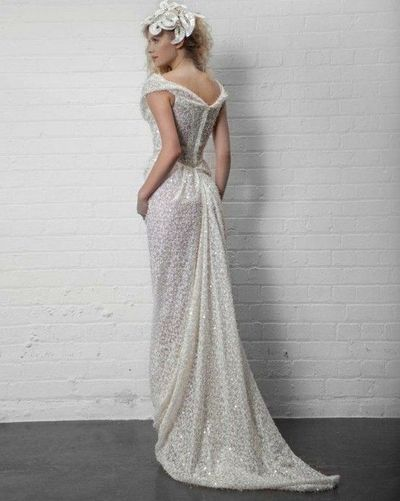 Sparkly Vivienne Westwood Wedding Dress / gowns - Juxtapost