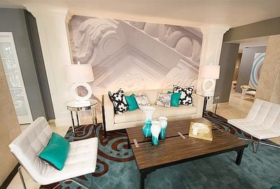 So Love This Gray White And Turquoise Living Room With A Touch Of Burgendy The