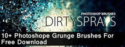 Photoshop brushes are one of the most useful and often under-rated aspects of the program. Below is a collection of some of the hottest and newest free grunge Photoshop brushes from a variety of brush sites. Many of these grunge brush sets come with sever...