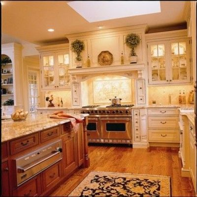 Kitchen... i dont think i'd leave the room. Look at that warming drawer!