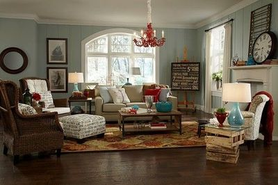 Blue Gray Living Room Paint - Colourful Bedroom Decorating Ideas