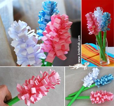 Hyacinth paper flowers preschool items juxtapost hyacinth paper flowers mightylinksfo