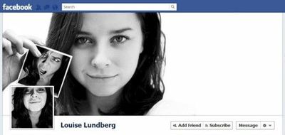 Fantastic Facebook Timeline profile/cover pic combos, with a template to help you design your own.