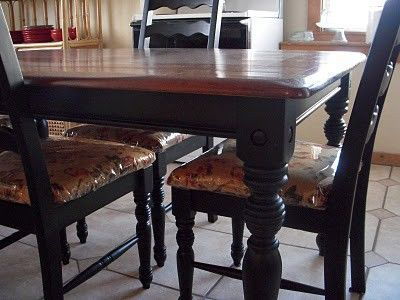 How to redo a kitchen table! / For my kitchen - Juxtapost