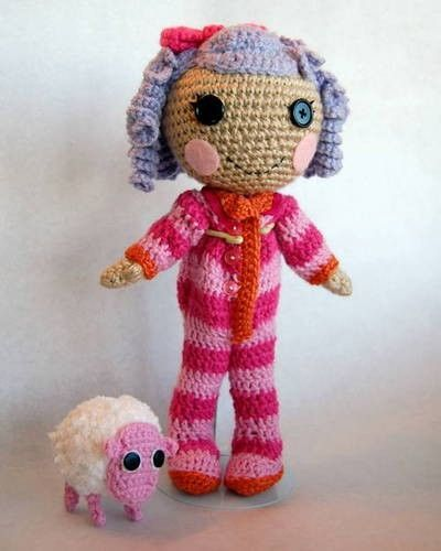 Lalaloopsy Dolls crochet pattern. / crochet ideas and tips ...