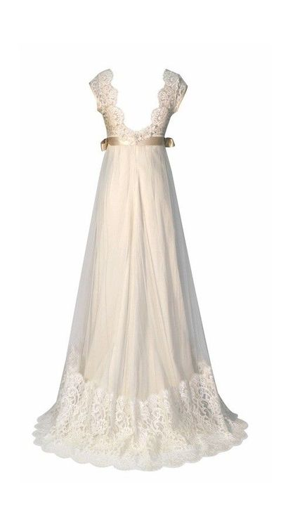 queen anne s lace wedding dress back gowns