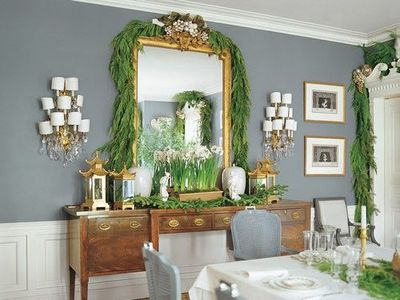 Love This Glamorous Dining Room