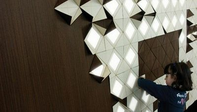Origami Inspired Lighting Concept A For Seems Like Lot