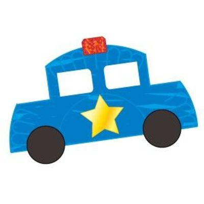 Police Car From Paper Plate Preschool Items Juxtapost