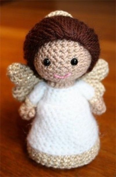 Crochet Pattern- Paz the little angel amigurumi doll ...