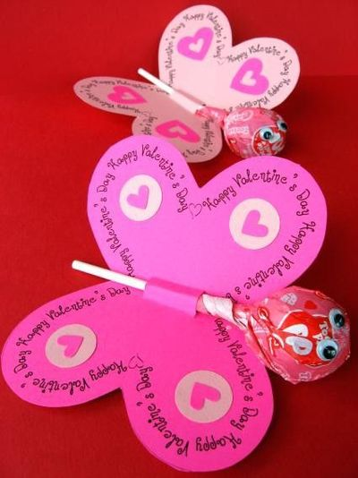 Great idea for homemade Valentine Cards for kids