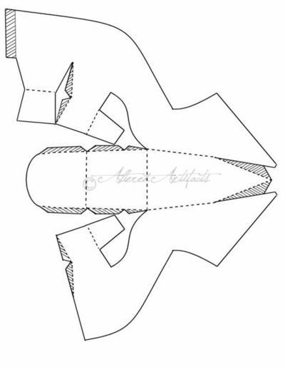 high heel shoe template craft - to make paper shoes using this pattern papercraft