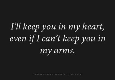 You Ll Be In My Heart Quotes