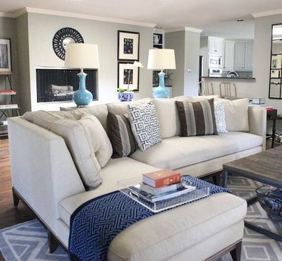 sectional sofa placement ideas for the home juxtapost With sectional sofa placement