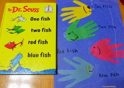 one fish two fish red fish blue fish activity