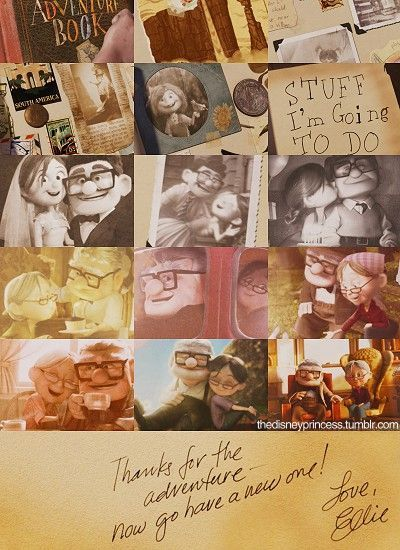 Up Movie Carl And Ellie Tumblr Quotes