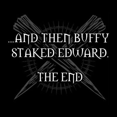 Buffy Staked Edward