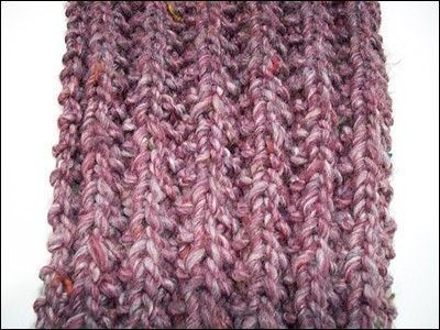 Knitting Rib Stitch Scarf : Mistake Rib Stitch Scarf / crochet ideas and tips - Juxtapost