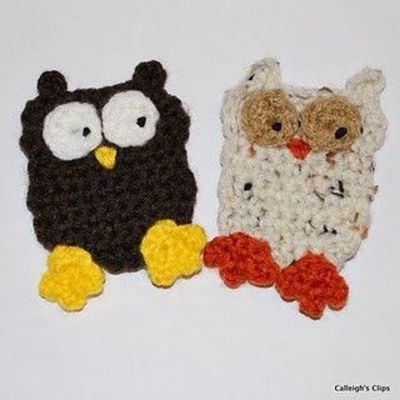 Love The Blue Bird: Crochet Owl Pattern