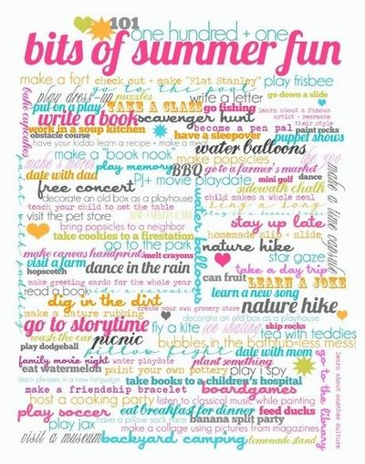 Bits Of Summer Fun Cool Design Idea Inspiring Quotes And Sayings