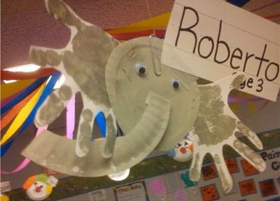 Paper plate elephant craft pictures to pin on pinterest