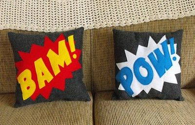 Perfect addition to a superhero room.