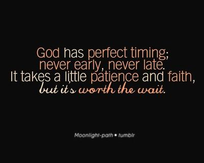 Trust in God s timing Quotes On Trust In God