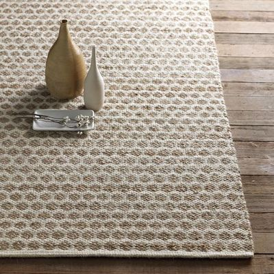 West Elm S Jute Dot Rug Honeycomb Pattern 180 280 Fo