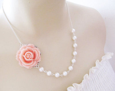 Bridal Necklace and Bridesmaid Necklace