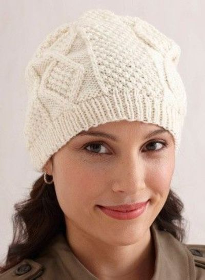 Knitting Pattern Aran Cable Hat : Knitting Patterns Free Hats images