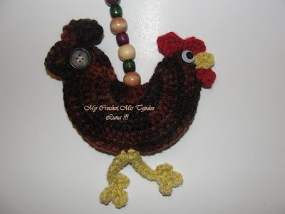 Rooster Crochet Free Pattern In English Crochet Ideas And Tips