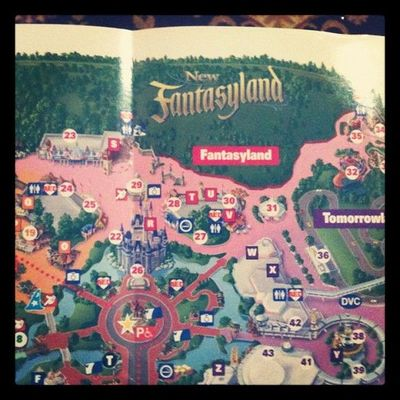 Magic Kingdom Map With New Fantasyland New Fantasyland on The Map in