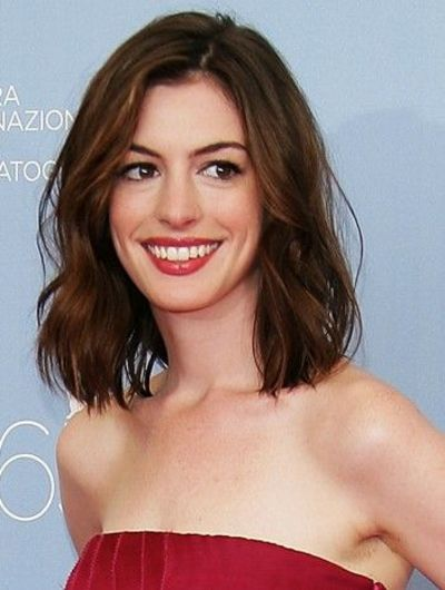 Anne Hathaway Long Bob Hair Tips Juxtapost
