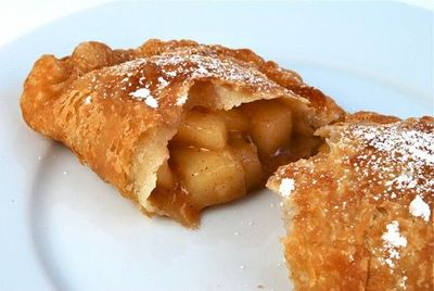 Fried apple pie, apple turnover