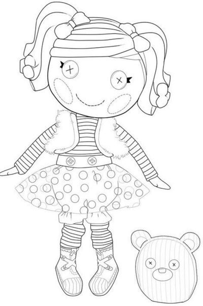 Lalaloopsy coloring pages papercraft juxtapost for Lalaloopsy free printable coloring pages