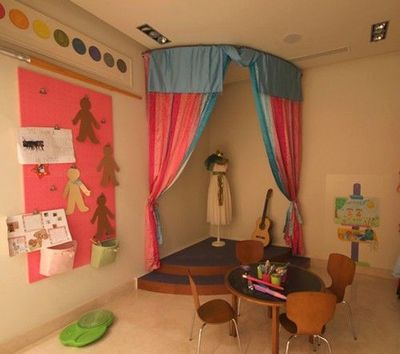 Corner Stage Perfect For The Dramatic Play Area Kids